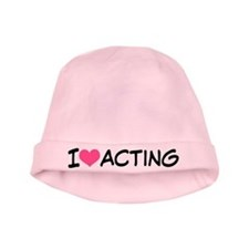 I Heart Acting baby hat