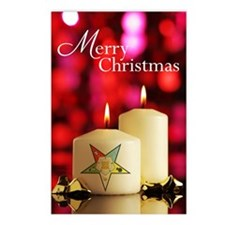 Eastern Star ChristmasPostcards (Package of