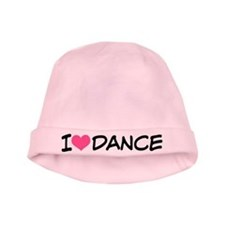I Heart Dance baby hat