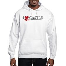I Love Castle Jumper Hoodie