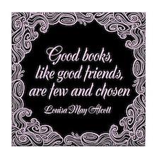 Good Books Tile Coaster