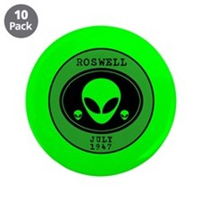 "Roswell July 1947 3.5"" Button (10 pack)"
