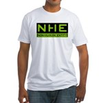 NHE Non Human Entity Fitted T-Shirt