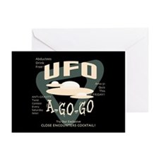 UFO A Go Go Greeting Cards (Pk of 10)
