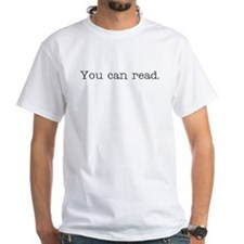 You can Read Funny School Shirt