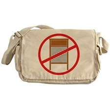 No Washboards! Messenger Bag