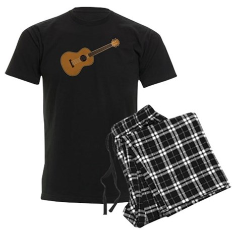 Ukulele Men's Dark Pajamas