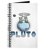 Funny Pluto Attacks Journal