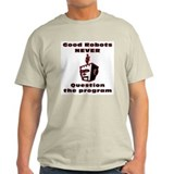 Good Robots... Ash Grey T-Shirt