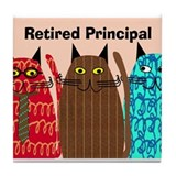 Retired Principal.PNG Tile Coaster