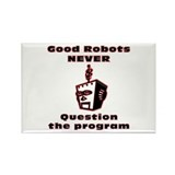 Good Robots... Rectangle Magnet (100 pack)