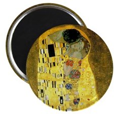 The Kiss by Gustav Klimt Magnet
