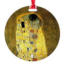 The Kiss by Gustav Klimt Ornament