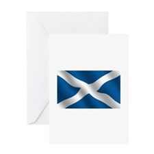 Scottish Saltire Greeting Card