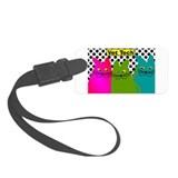 Vet TEch 3 CATS Whimiscal.PNG Luggage Tag