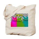 Vet TEch 3 CATS Whimiscal.PNG Tote Bag