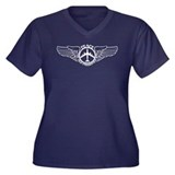 B-47 Peace The Old Fashioned Way Women's Plus Size