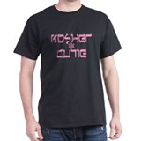 Kosher Cutie Shalom Black T-Shirt
