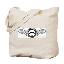 B-47 Peace The Old Fashioned Way Tote Bag
