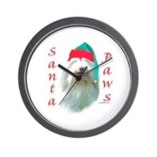 Bearded Paws Wall Clock