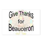 Thanks for Beauceron Postcards (Package of 8)