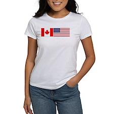 Canada / USA - Women's White T-Shirt