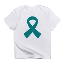 Teal Ribbon Awareness Infant T-Shirt