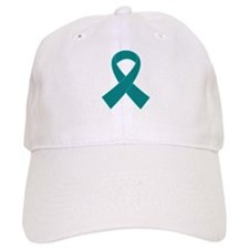 Teal Ribbon Awareness Baseball Cap