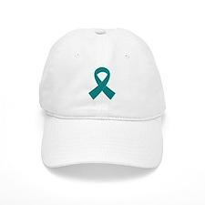 Teal Ribbon Awareness Baseball Cap