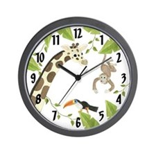 Jungle Clock Wall Clock