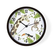 Jungle Clock Wall Clock
