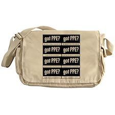 Got PPE? International Messenger Bag