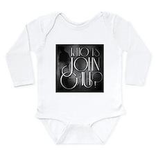 Who is John Galt? Long Sleeve Infant Bodysuit