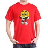 Book Smiley T-Shirt
