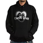 Twoo Love Princess Bride Hoodie (dark)