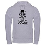 Keep Calm and Carry Iocane Hooded Sweatshirt