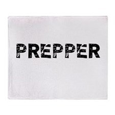 Prepper Throw Blanket