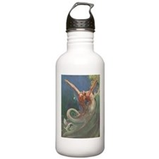 Vintage 1930s Mermaid Water Bottle