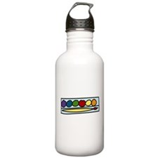 Paint Set Sports Water Bottle