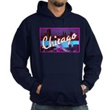 Chicago Illinois Greetings Hoodie