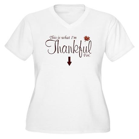Thankful Maternity2 Plus Size T-Shirt
