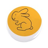 "Unique Lapin 3.5"" Button"