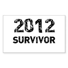2012 survivor Decal