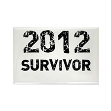 2012 survivor Rectangle Magnet