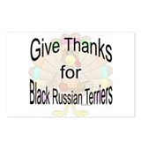 Thanks for Black Russian Postcards (Package of 8)
