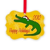 Alligator farm Ornament