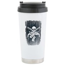 Ragnar Danneskjöld (Distressed) Ceramic Travel Mug