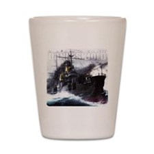 Danneskjold Repossessions Ship Shot Glass