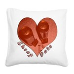 heart_cheap_date.png Square Canvas Pillow