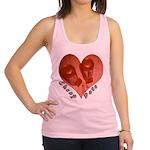 heart_cheap_date.png Racerback Tank Top